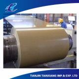 Катушка Prepainted основным веществом гальванизированная стальная PPGI толя