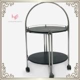 Het Meubilair van het Roestvrij staal van het Karretje van de Alcoholische drank van de Kar van het karretje (RS150501)