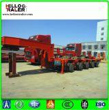 Remorque modulaire hydraulique d'essieu multi de 200 tonnes