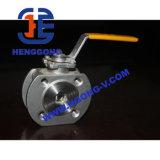 API/DIN Form-Stahl-/Wcb keramisches Flansch-Kugelventil