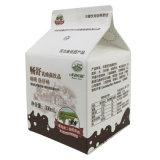 dreieckiger Karton des Joghurt-250ml mit Schutzkappen