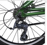 Облегченное Alloy Folding Bicycle с Shimano Derailleur и Shifter