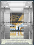 Passeggero Elevator con Hairline Stainless Steel (JQ-B010)