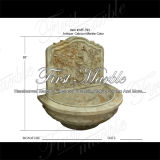 Antique Travertine Wall Fountain pour décoration pour la maison Mf-793