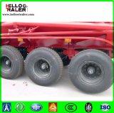 60 rimorchio di Bulker del cemento dell'asse di tonnellata 3, motore diesel o motore elettrico