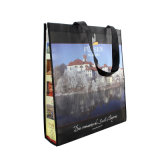 Não Woven Laminated Bag, para Shopping e Advertizing