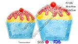 Керамические тарелки конфеты и ек для рождества