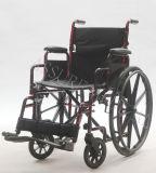 Manual de aço, Quick-Release, cadeira de rodas, dobradura, (YJ-023)