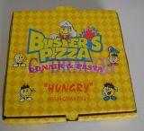 Erhältlich viele im unterschiedlichen Größen-gewölbtes Papier-Pizza-Kasten (DDB12004)