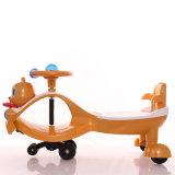 Carro bonito do balanço do bebê da cabeça do esquilo do projeto novo com corda puxando
