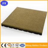 Pavimentazione di gomma certificata di ginnastica di alta qualità