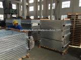 Galvanizado transformador con aletas de radiador