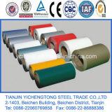 Bobina de alumínio revestida a cores 3003 para cobertura