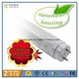 Nanómetro 150lm/W 270 iluminación del tubo del ángulo de haz del grado los 60cm 9W T8 LED