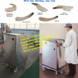 Pequeña máquina de camarón Pelar, gambas peladora, Equipo Peeling