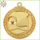 De in het groot Medaille van het Ontwerp van de Medaille van de Sport van de Medaille van de Toekenning 3D