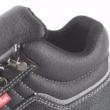 Cargadores del programa inicial de cuero superventas de los zapatos de seguridad con el casquillo de acero de la punta