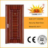 Acero Puerta de seguridad Puerta de Hierro Grill Designs (SC-S011)