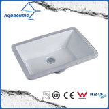 Bassin en céramique d'Underounter de bassin de salle de bains (ACB1602)