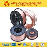 普及した溶接ワイヤ(AWS A5.18 ER70S-6)