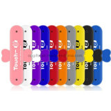 sostenedor multi del soporte del teléfono móvil del silicón de los colores de la etiqueta engomada de los 3m