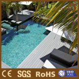 Vente en gros de bois composite en plastique imperméable à chaud pour piscine Swiming