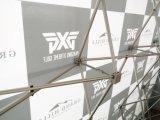 o gancho da tela da feira profissional de 10FT & a feira profissional do laço estalam acima o indicador de parede