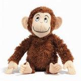 Jouet fait sur commande de peluche de jouet de peluche de singe