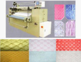 Acabamiento de la tela de materia textil del paño del átomo que plisa la máquina