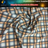 tela tingida fio de Shirting do estiramento do poliéster 75D/40d*75D/40d para a camisa ao ar livre (YD1092)