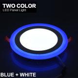 Instrumententafel-Leuchte der gute Qualitätsrunden Form-zwei der Farben-LED