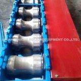 Porte en acier d'obturateur de rouleau de tuile de couleur formant la machine