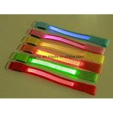 Migliore bracciale di vendita del LED con la fascia registrabile ed il materiale riflettente