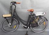 36V vélos électriques de la série 700c de bâti noir neuf d'alliage d'aluminium (JSL036X-2)