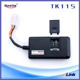Rastreador de GPS de motocicleta de rastreamento em tempo real Corte de óleo (TK115)