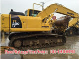 Excavatrice utilisée de machines de chenille de KOMATSU PC200LC-8 à vendre