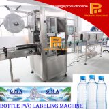 Máquina automática del encogimiento de la escritura de la etiqueta de la funda del PVC para la botella