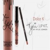 Kylie impermeable Metals el kit líquido mate del labio del maquillaje del trazador de líneas del lápiz labial y del lápiz