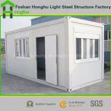 Casa modular de la casa prefabricada del envase