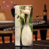 Fiore a lamella dell'aroma della casa del diffusore del rattan nell'insieme di ceramica del regalo del diffusore della canna della bottiglia