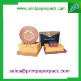 De Verpakking van het Lint van de Bloem van de Luxe van de douane om het Vakje van het Karton van de Verpakking van de Gift van het Document van de Buis van de Hoed