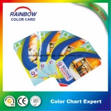 Catalogue plié personnalisé de couleur d'impression pour la peinture