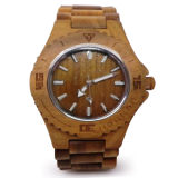 Reloj de madera de la prueba del agua