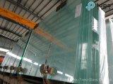 vidro de flutuador desobstruído transparente do vidro da construção de 1.9mm-25mm/edifício (W-TP)
