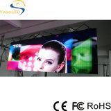 Pantalla de visualización a todo color de interior de LED P4 de la instalación fija con la alta resolución
