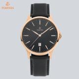 Relógio de pulso cheio do aço inoxidável do relógio de quartzo dos homens ocasionais luxuosos do projeto brandnew para o mercado europeu 72571 do relógio