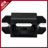 SC Footprint Fibra Óptica MPO MTP Flange Adapter Black Housing