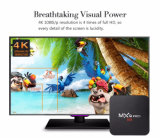 Cheapst intelligenter Fernsehapparat-Kasten Mxq PROAndroid 6.0 4k ultra HD Fernsehapparat 2017 Box+Bt+WiFi