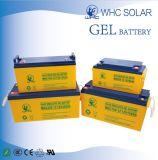 Bateria solar do gel da qualidade 12V150ah da capacidade elevada grande para o sistema solar