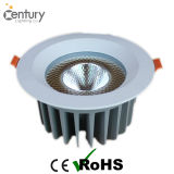 GS SAA 3 인치 15W LED 천장 빛 크리 사람 옥수수 속 LED는 110-120lm/W로 아래로 점화한다